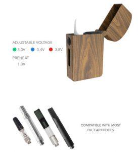 magicbox-s vaporizer adjustable voltage