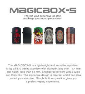 magicbox-s vaporizer patterns